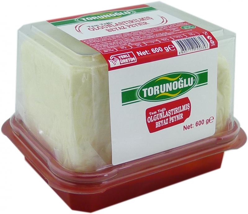 Olgunlaştırılmış Klasik Beyaz Peynir 600 g