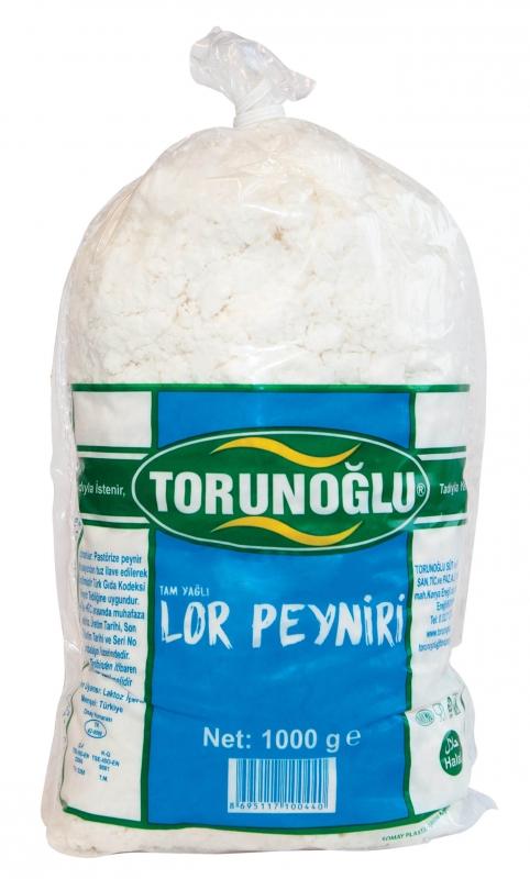 Tam Yağlı Lor Peyniri 1 Kg